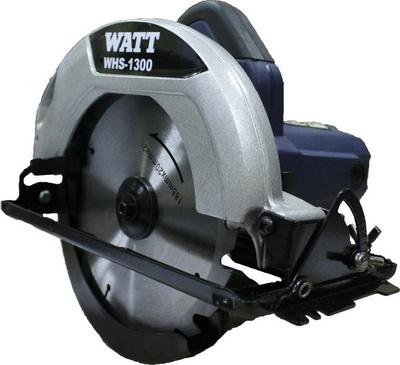 Циркулярная пила WATT WHS-1300 (2018) (6.013.185.00)