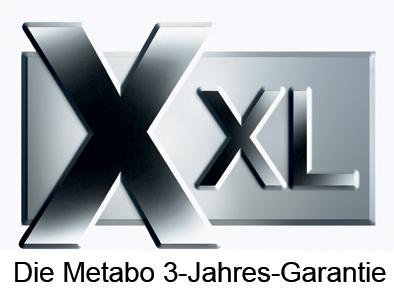 Программа: XXL-гарантия на инструмент Metabo